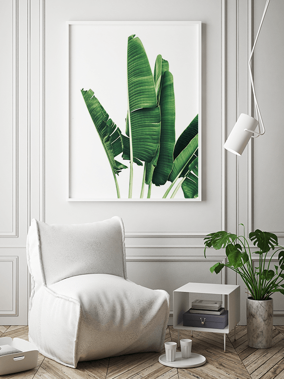 Banana Leaves Wall Art Print - PRRRINT