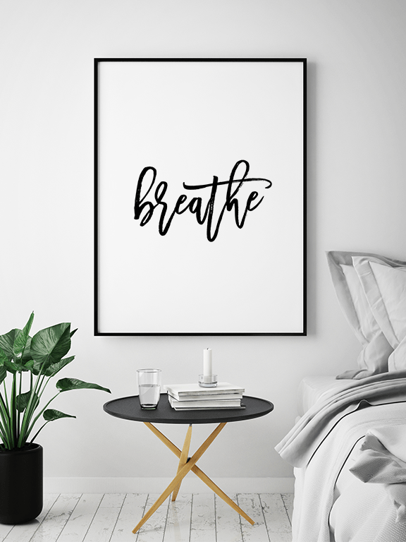 Breathe No2 Wall Art Print - PRRRINT