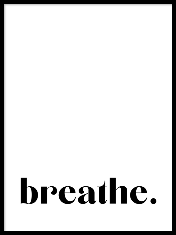 Breathe No7 Wall Art Print - PRRRINT
