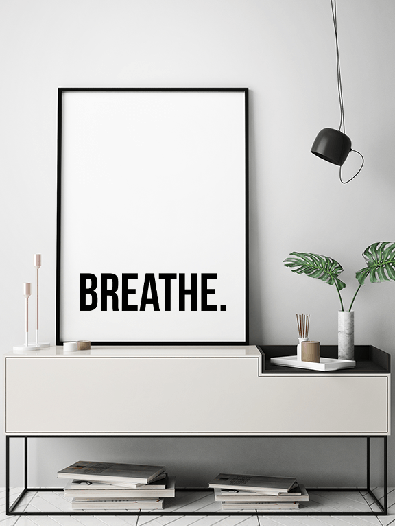 Breathe No8 Wall Art Print - PRRRINT