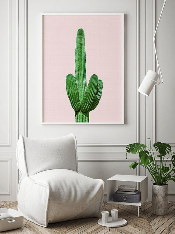 Cactus 4 Wall Art Print - PRRRINT