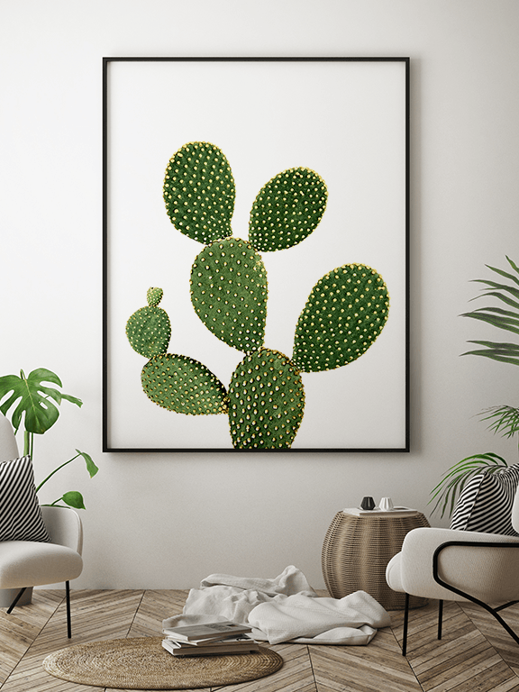Cactus No3 Art Print - PRRRINT