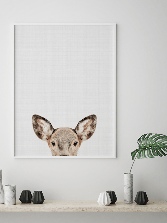 Doe Wall Art Print - PRRRINT
