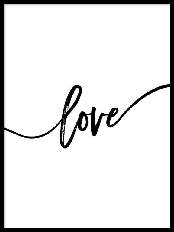 Love Wall Art Print - PRRRINT