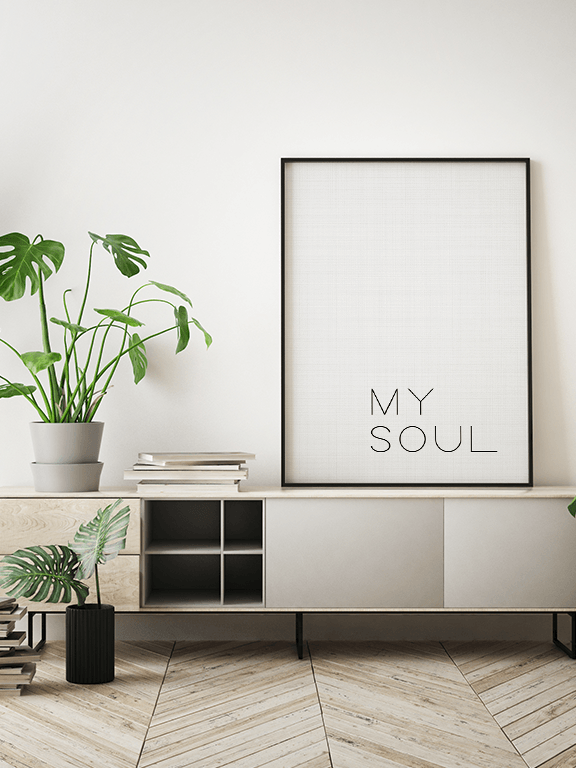 My Soul Wall Art Print - PRRRINT