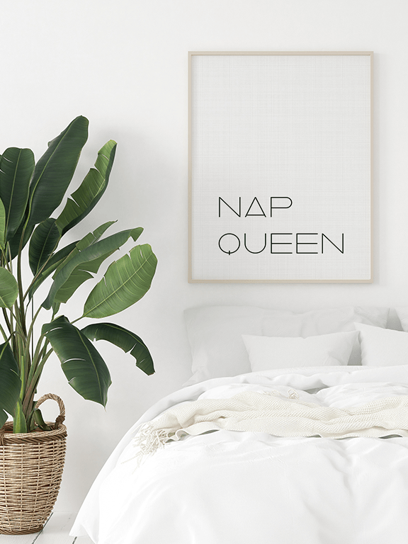 Nap Queen Print - PRRRINT