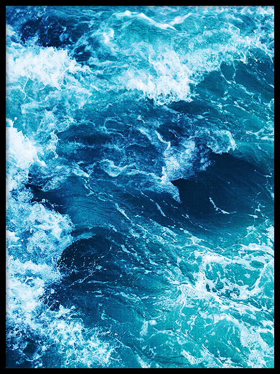 Ocean Waves Print - PRRRINT