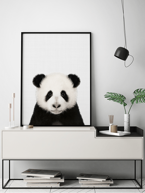 Panda Wall Art Print - PRRRINT