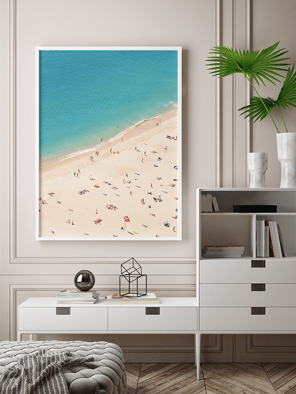 Sunny Beach Wall Art Print - PRRRINT