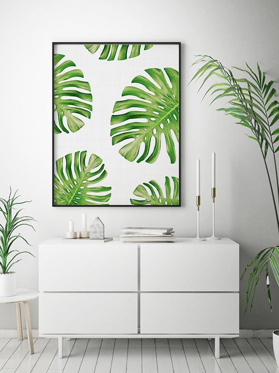 Tropical Wall Art Print - PRRRINT