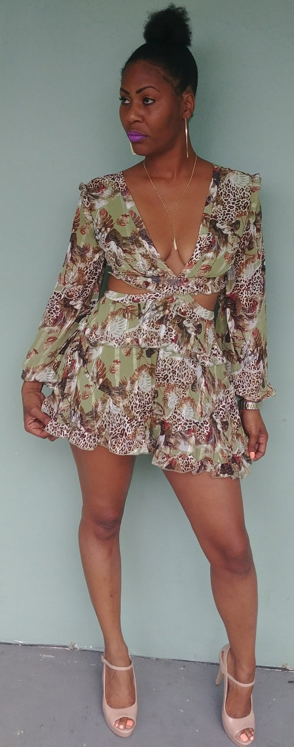 Wild'n over you Romper