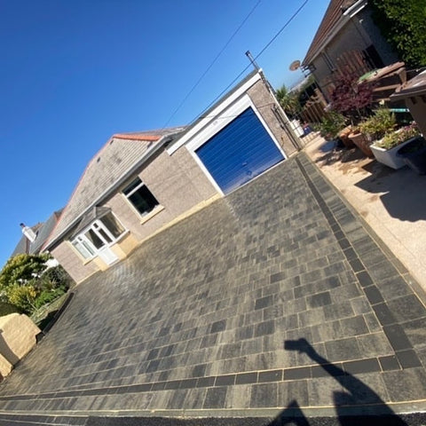 Plymouth Block Paving Shannon slate installation