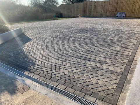 Plymouth Block Paving Padesta Slate installation
