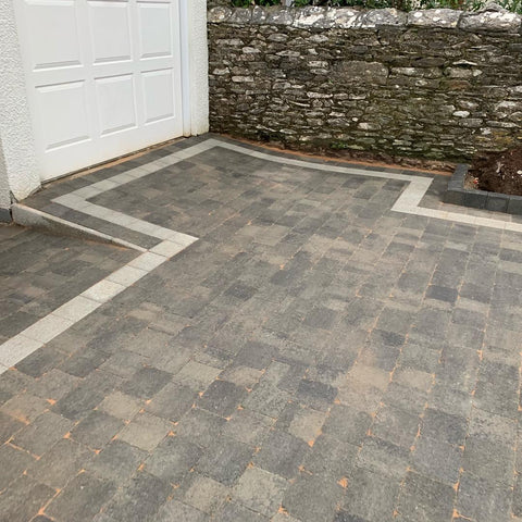 Plymouth Block Paving Tegula slate installation