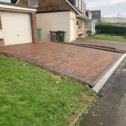 Plymouth Block Paving Padesta Heather installation