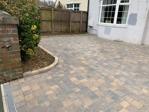 Plymouth Block Paving Tegula bracken installation