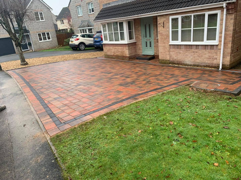 Plymouth Block Paving Shannon Heather installation