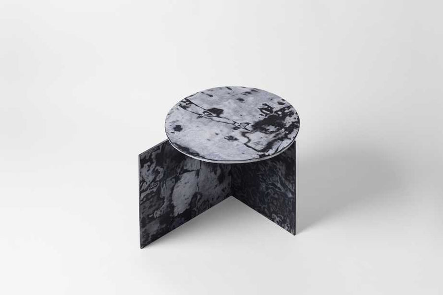 Marble Made Out of Repurposed Denim