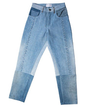 Load image into Gallery viewer, Indigo High-Waist Vintage Denim Jean