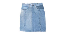 Load image into Gallery viewer, Indigo Vintage Denim Skirt