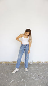 Tailored Vintage Distressed Levi's - size 25