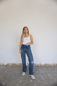 Tailored Vintage Lee Jeans - size 26