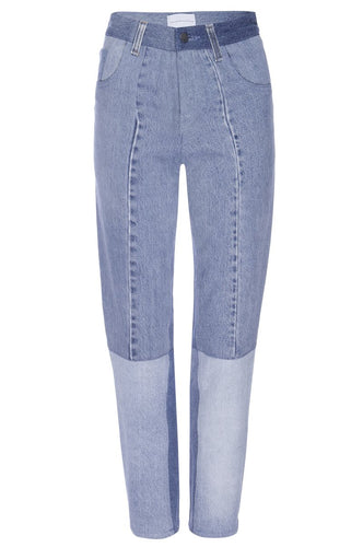 Indigo High-Waist Vintage Denim Jean