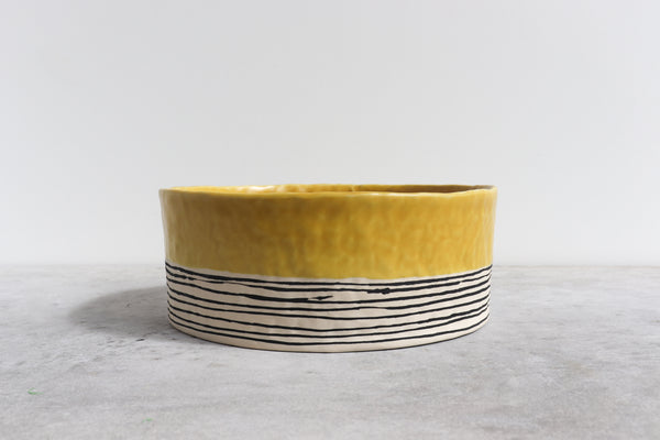 Pinched Serving Bowl - Daybreak