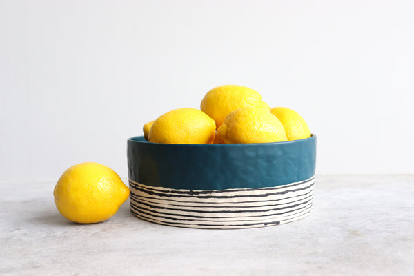 Pinched Serving Bowl