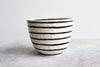 Pinched Serving Bowl - Stripes