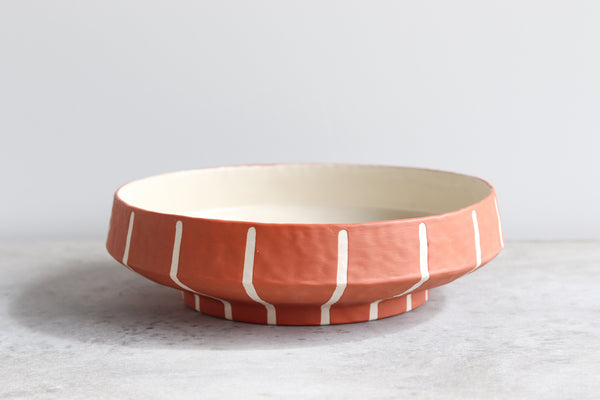 Pinstripe Serving Platter