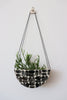 Half Moon Hanging Planter - Brick