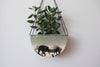 Half Moon Hanging Planter - Seafoam