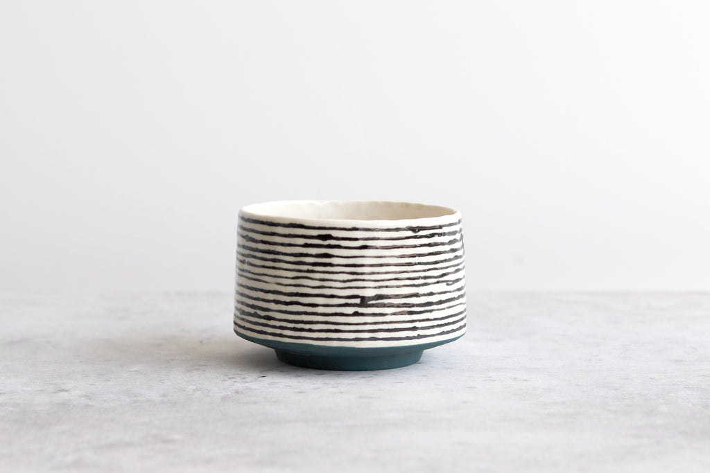 Ebb & Flow Striped Bowl