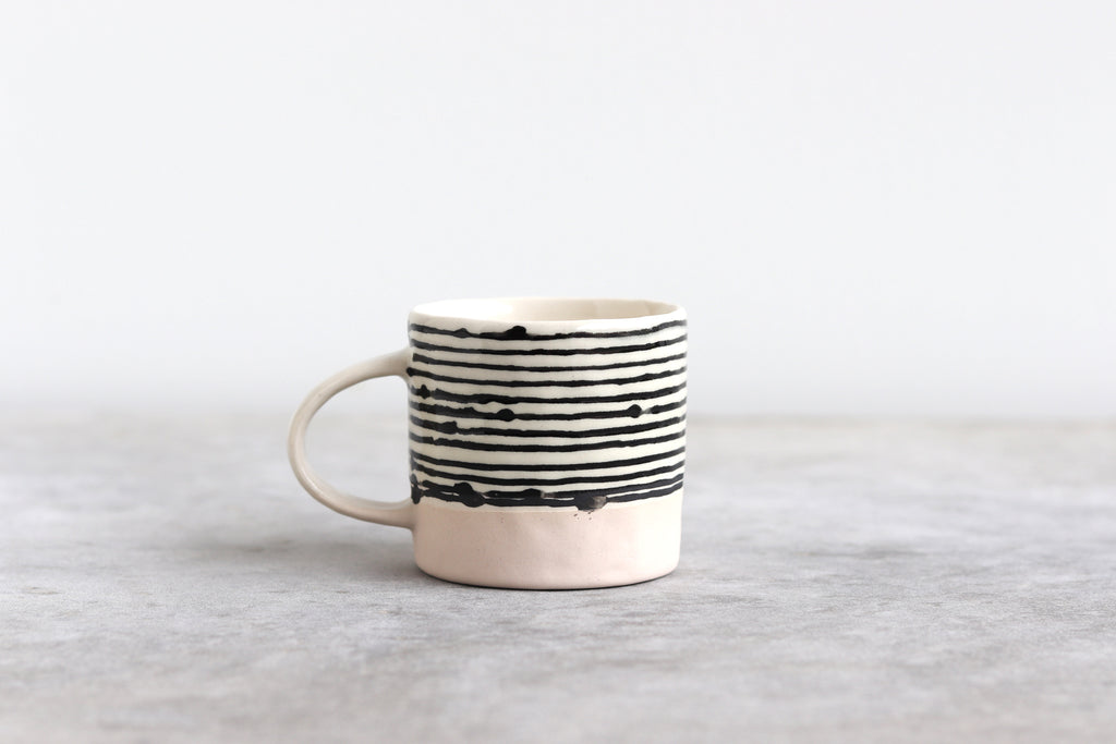 Striped Espresso Cup - Summer Sweet