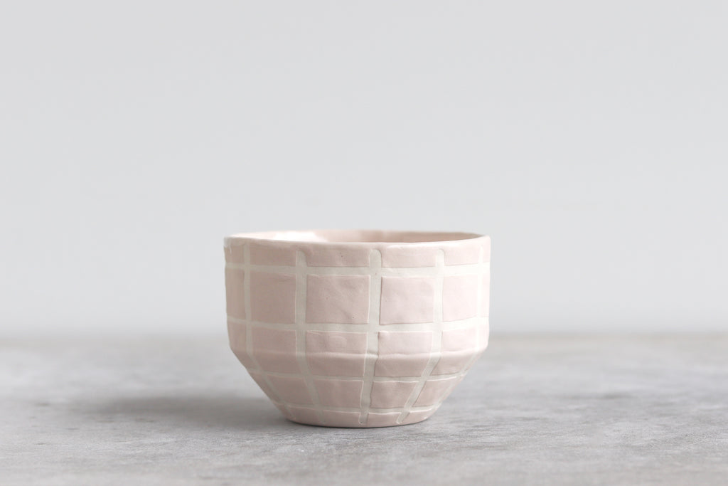 Matte Grid Bowl - Summer Sweet