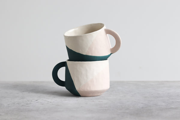 Ebb & Flow Three Toned Mug