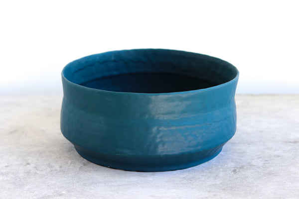 Ebb & Flow Serving Bowl - Deep Ocean