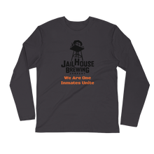 Load image into Gallery viewer, Customize-able Jailhouse Logo Long Sleeve Fitted Crew