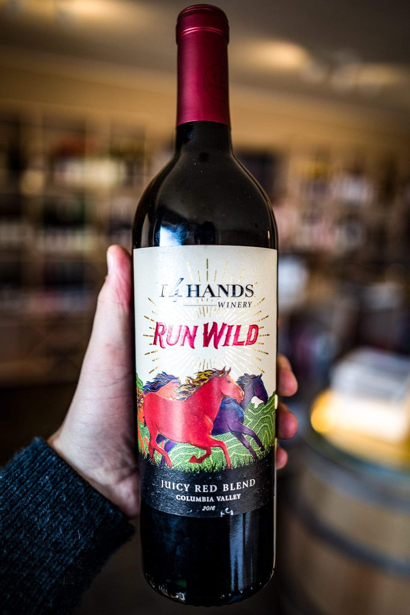 Image of 14 Hands Run Wild Juicy Red Blend 2016