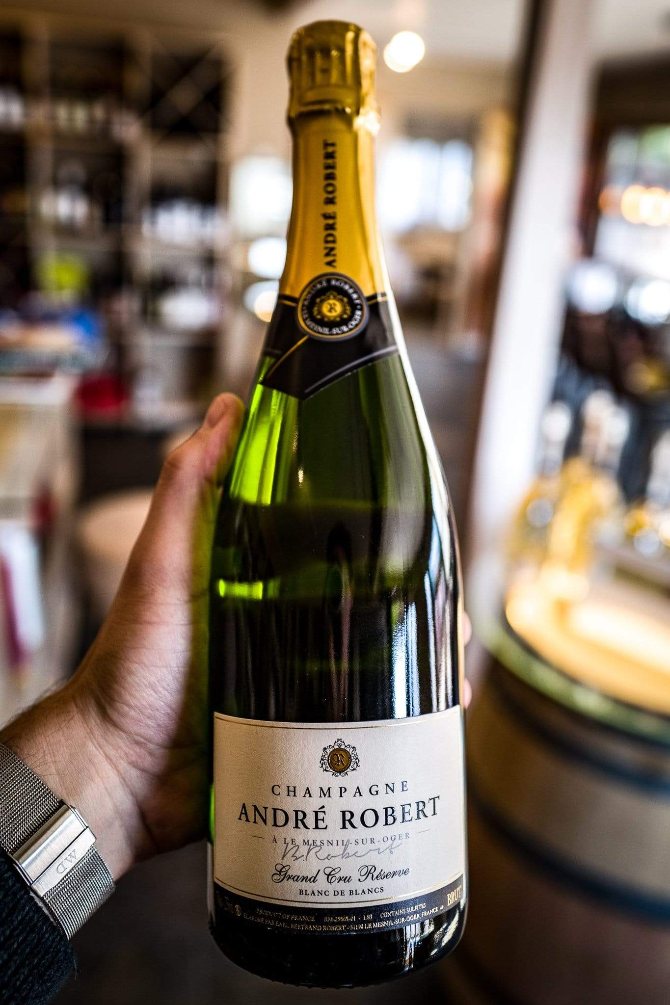 Image of   André Robert Brut Reserve Grand Cru