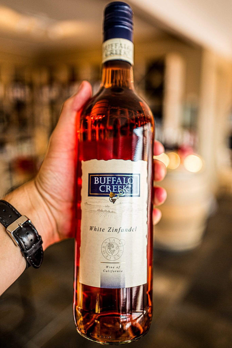 Buffalo Creek Rosé Buffalo Creek White Zinfandel Rosé 2017
