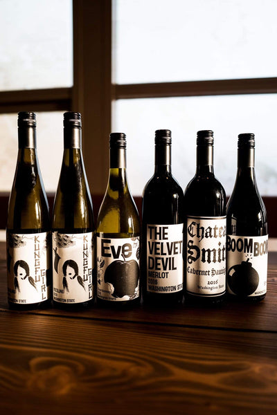 Charles Smith Smagekasse Charles Smith Vinsmagekasse