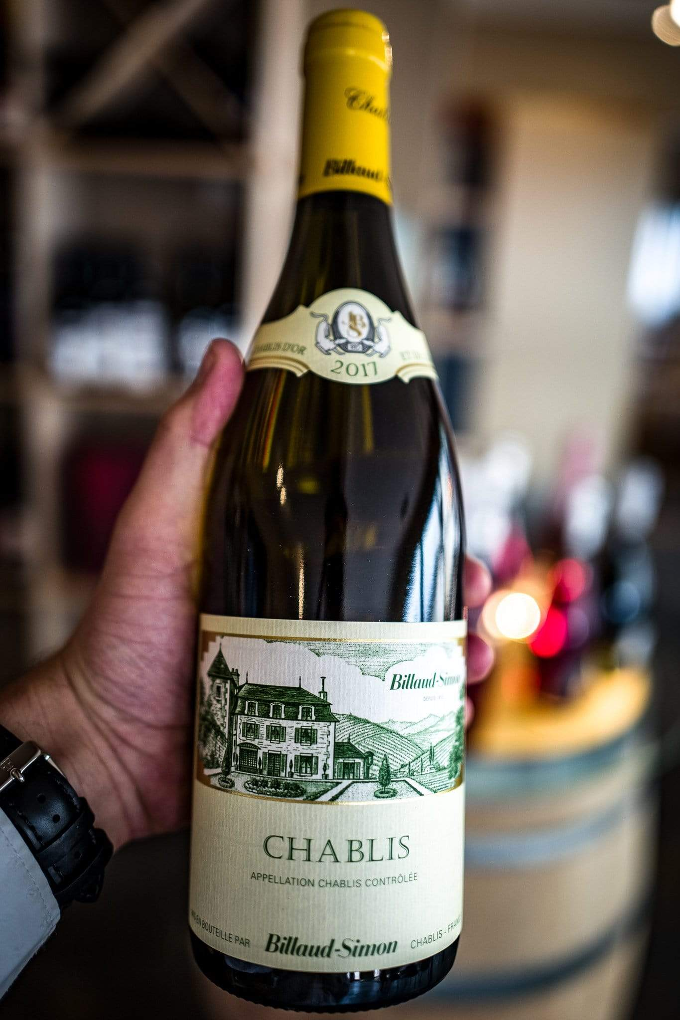 Image of   Domaine Billaud-Simon Chablis AOC 2017