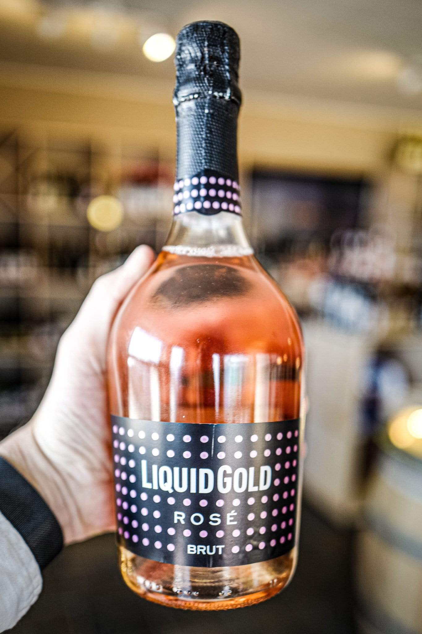 Image of   Liquid Gold Rosé Vino Spumante Brut