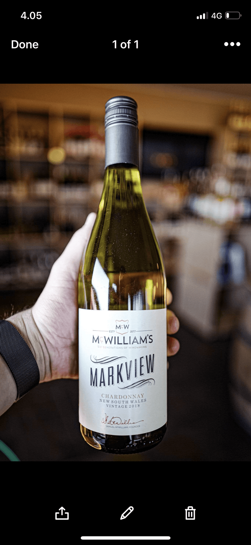 McWilliams Hvidvin Markview Chardonnay 2019