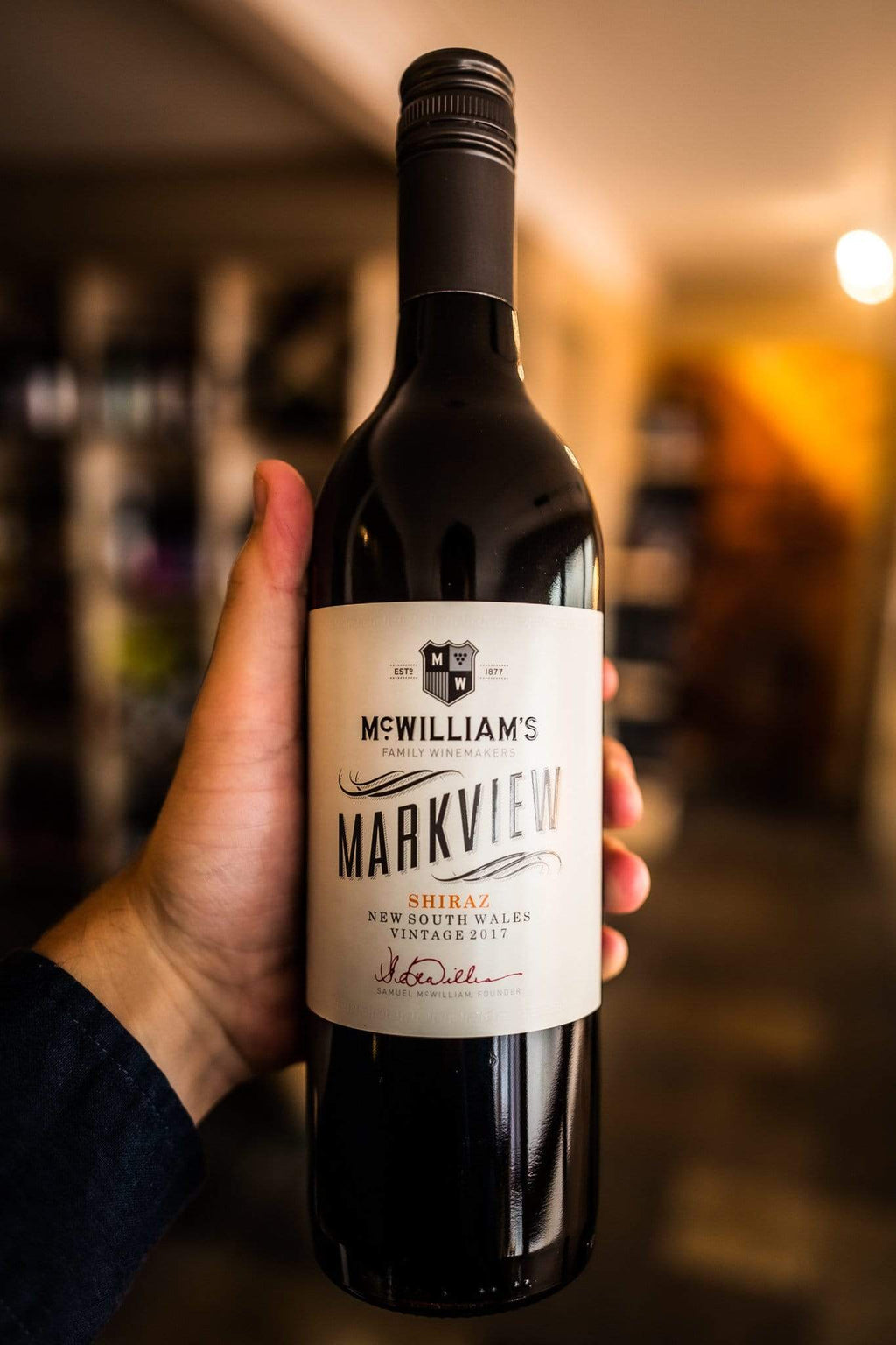 McWilliams Rødvin Markview Shiraz 2017