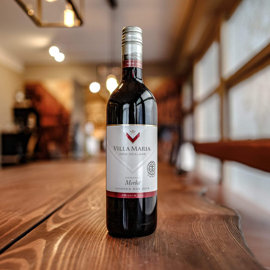 Villa Maria Estate Rødvin Villa Maria Estate Private Bin Merlot ORGANIC 2013