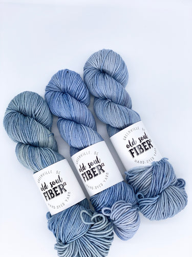 Faded Denim - Soul Worsted