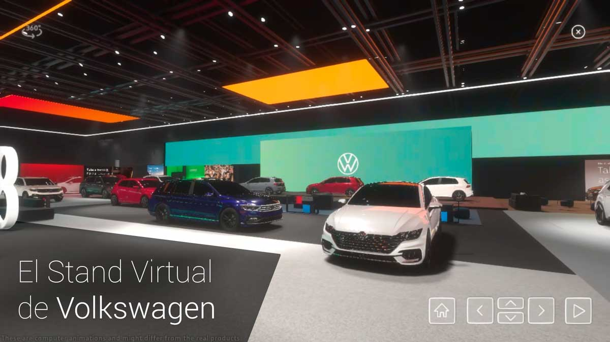 Stand virtual Volkswagen Salon de Ginebra 2020